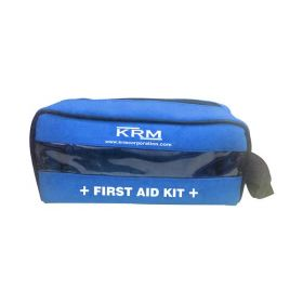 FIRST AID KIT POUCH (TRANSPARENT) - BLUE