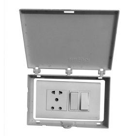 Di Electric Multipurpose Panel Lockout - Grey