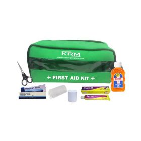 FIRST AID KIT POUCH (TRANSPARENT) - WITH CONTENT