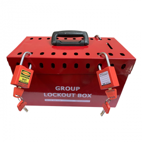 Krm Loto – Portable Group Lockout Box 20 Holes