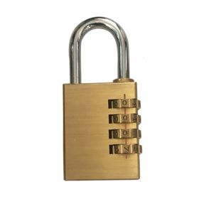KRM LOTO – BRASS SAFETY PADLOCK – WITH NUMBER PATTERN