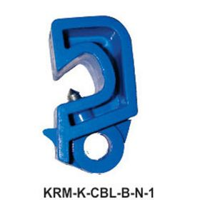 Circuit Breaker Lockout with Normal Screw and Nose -  Blue