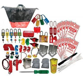 OSHA ELECTRICAL DEPARTMENT LOCKOUT TAGOUT KIT-3