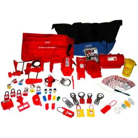 ELECTRICAL MECHANICAL PNUEMATIC LOCKOUT TAGOUT KITS