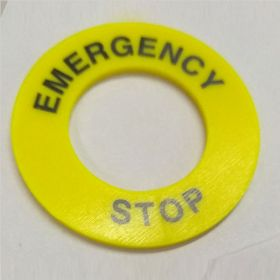 25pcs KRM LOTO - ELECTRICAL PANEL EMERGENCY STOP SIGN-3922