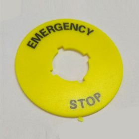 25PCS KRM LOTO - ELECTRICAL PANEL EMERGENCY STOP SIGN-4616