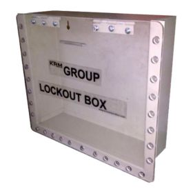 Wall Mounted Group Lockout Box 27H