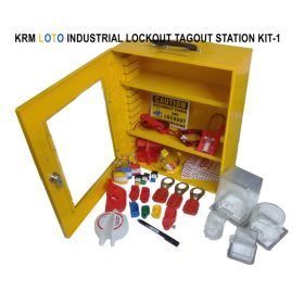 INDUSTRIAL LOCKOUT TAGOUT STATION KIT-1