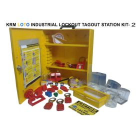 INDUSTRIAL LOCKOUT TAGOUT STATION KIT-2