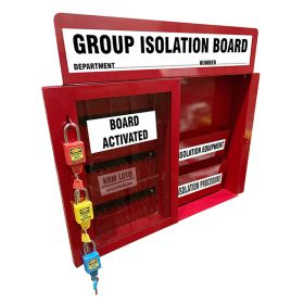 KRM LOTO –GROUP ISOLATION BOARD ACTIVATE/ DEACTIVATED