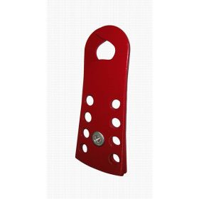 Powder coated Hasp made of Harden steel sheet - jaw dia -13mm Edge thickness : 4mm