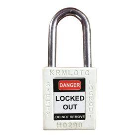 OSHA Safety Isolation Lockout Padlock - Metal Shackle with Differ Key