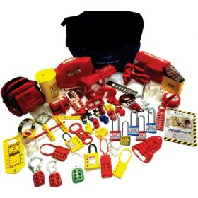 KRM LOTO LOCKOUT TAGOUT KIT (with normal locks)