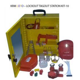 LOCKOUT TAGOUT STATION KIT - 10