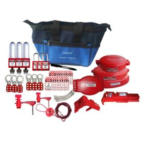 KRM LOTO – LOCKOUT TAGOUT VALVE BAG KIT