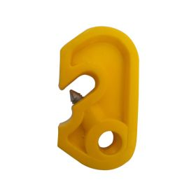 Mini Circuit Breaker Lockout - Yellow