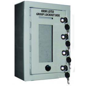Key Safe Group Lock Box with 4 Locks