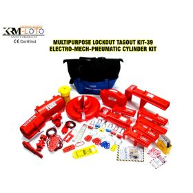 KRM LOTO - MUILTPURPOSE LOCKOUT TAGOUT KIT - 39 (EMPC)