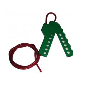 Multipurpose Scissor Cable Lockout Green/Red (Di Electric Cable)