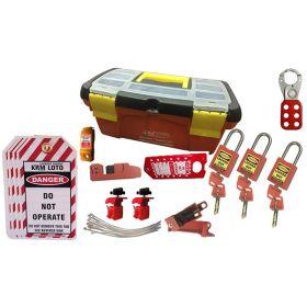 KRM LOTO - OSHA LOCKOUT TAGOUT ELECTRICAL BOX KIT - 9024