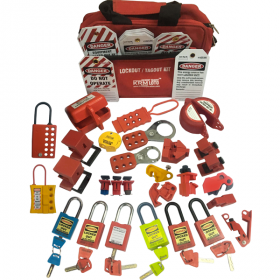 KRM LOTO – OSHA LOCKOUT TAGOUT ELECTRICAL KIT-2132