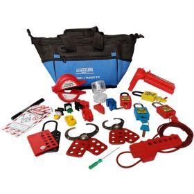KRM LOTO  -OSHA LOCKOUT TAGOUT ELECTRICAL MAINTENANCE BAG KIT - 4087