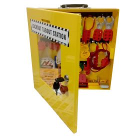 KRM LOTO – OSHA LOCKOUT TAGOUT ELECTRICAL STATION KIT -8044