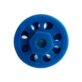Round Multipurpose Cable Lockout 8H Blue (without cable)