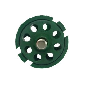Round Multipurpose Cable Lockout 8H Green (without cable)