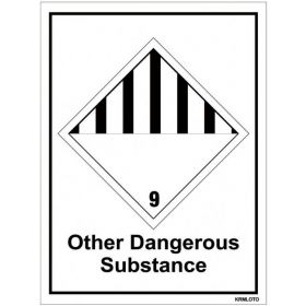 50pcs Self Adhesive Labels - Other Dangerous Substance