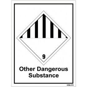 50pcs Self Adhesive Labels - Other Dangerous Substance