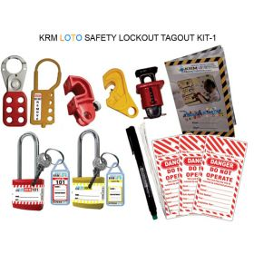 SAFETY LOCKOUT TAGOUT KIT -1