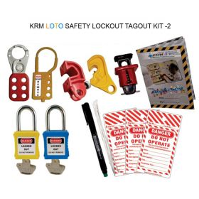 SAFETY LOCKOUT TAGOUT KIT -2