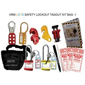 SAFETY LOCKOUT TAGOUT KIT BAG -1