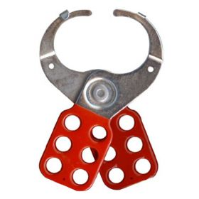Vinyl Molded coated Hasp Premier - Jaw dia -38/39 mm - Red/ Yellow/ Green/Blue - with Double hook
