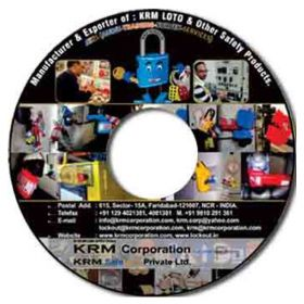 Lockout Tagout CD having Presentation Data / Movie