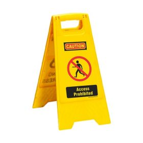 KRM LOTO PORTABLE SAFETY FLOOR STAND(ACCESS PROHIBITED)