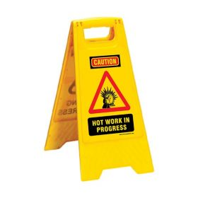KRM LOTO PORTABLE SAFETY FLOOR STAND(WET FLOOR TAKE CARE)