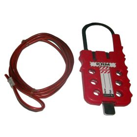 Multipurpose Cable Lockout - Red