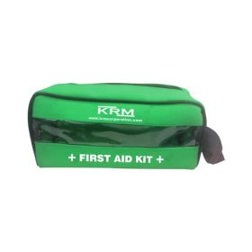 FIRST AID KIT POUCH (TRANSPARENT) - GREEN