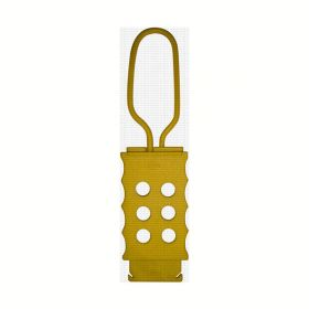 Di electric Hasp with 6 holes . YELLOW  RED, BLUE,GREEN,