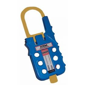 De Electric ABS Multipurpose Cable Lockout Device Blue/Yellow (with option of cable as require)