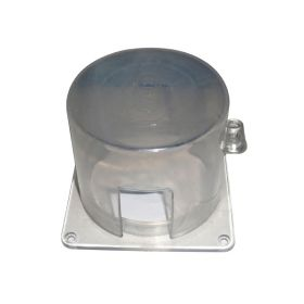 Electrical Panel Lockout with outer square base
