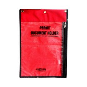 Lockout  Permit Document Holder Without Padlocks