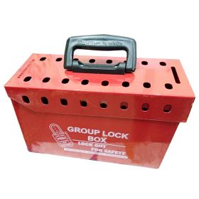 Portable Group Lockout Box (16 Holes)