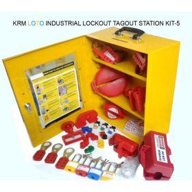 INDUSTRIAL LOCKOUT TAGOUT STATION KIT - 5