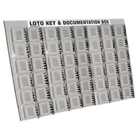 KRM LOTO – 5 LOCK WITH 48 GROUP LOCKOUT BOX CABINET