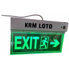 LED Battery Back Up Sign (Edge Lit)
