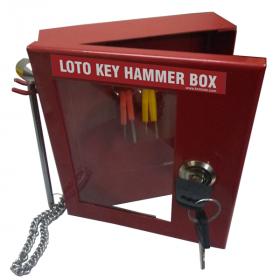 KRM LOTO – LOTO KEY HAMMER BOX-15145