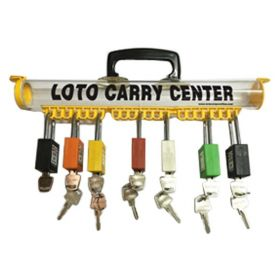 KRM LOTO LOCKABLE LOTO CARRY PERMIT CENTER / LOTO CARRY CENTER / LOTO PADLOCK CENTER/ PADLOCK TUBE